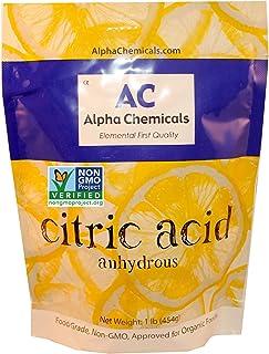 Non-GMO Project Verified Citric Acid - 1 Pound – Organic