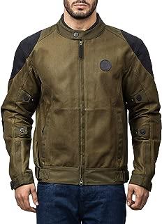 Royal Enfield Polyster Olive Riding Jacket for Men Size (L) 42 CM (RRGJKK000009)