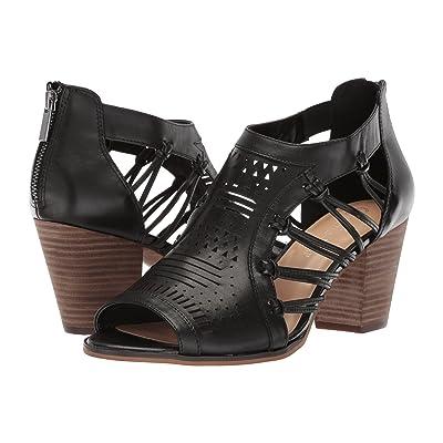 Bella-Vita Kortez (Black Leather) Women