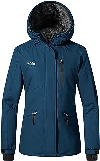 Women's Ski Jacket Mountain Raincoat Hooded Parka Waterproof Winter Coat