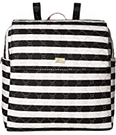 Luv Betsey - Willow Oversize Travel Cotton Backpack with Luggage Pass Through