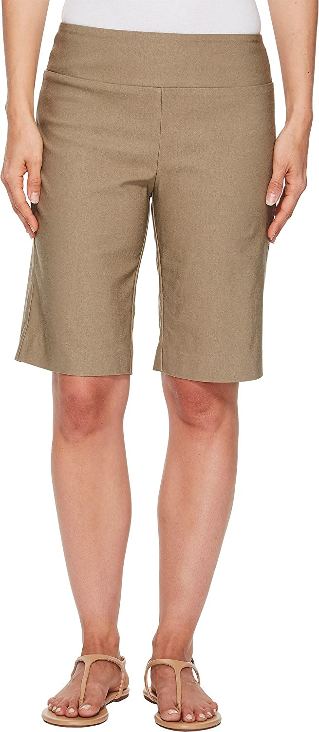 Elliott Lauren Womens Control Stretch Pullon Shorts