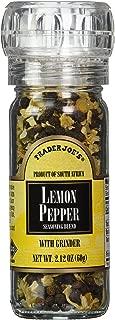 Trader Joe's Lemon Pepper Seasoning Blend with a Built in Grinder