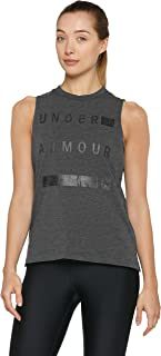 Under Armour Women's Linear Wordmark Muscle Tank