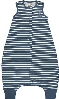 Woolino 4 Season Baby Sleeping Sack with feet, Australian Merino Wool Wearable Blanket, 6 Months - 3-4T