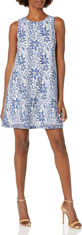 Eliza J Women's Sleeveless Lace Trap Dress
