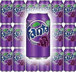 Fanta Grape Soda, 12 Fl Oz Cans (Pack of 18, Total of 216 Fl Oz)