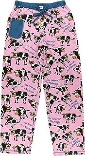 Moody in The Mornings Women's Womens Pajama Pants Bottom by LazyOne | Pajama Bottom for Women (Medium)