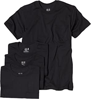 Men's Pocket Crew Neck T-Shirt (Pack Of 4)