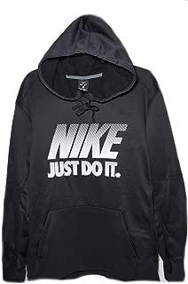 Mens Just Do It Dri-Fit Hoodie Black