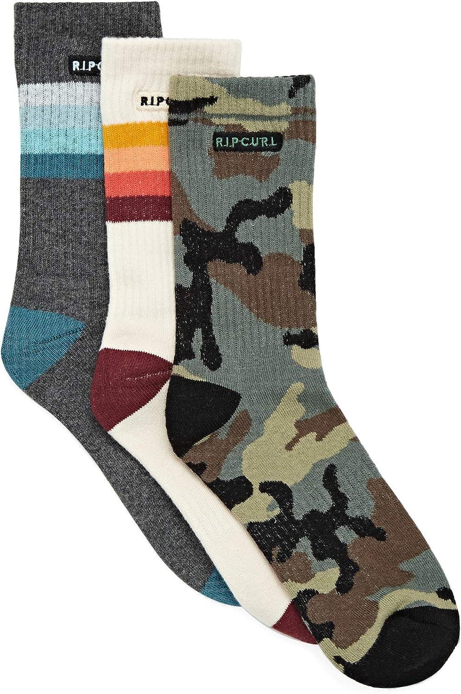 Rip Curl Art Party 3 Pack Fashion Socks
