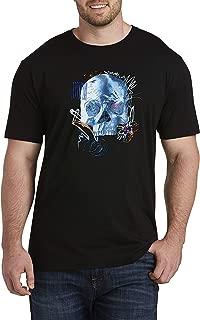 Robert Graham DXL Scribble Skull Graphic Tee, Black