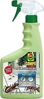 Compo Antihormigas Pistola, Envase pulverizador, Apto para Uso doméstico, Hogar y jardín, Efecto Duradero, 750 ml