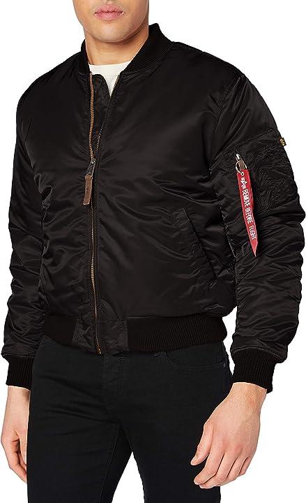 Bomber uomo - alpha giacca uomo  - giubbotto alpha industries 156101-389