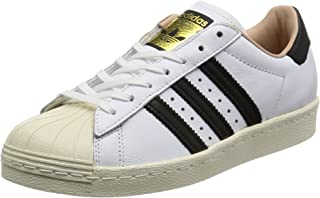 adidas Womens Superstar 80s Leather Trainers