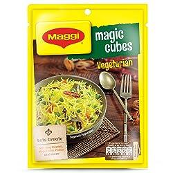 Nestle MAGGI MAGIC Cubes, Vegetarian Masala – 10 cubes (4 gm)