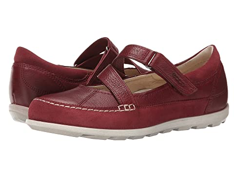 Womens Shoes ECCO Cayla Mary Jane Port