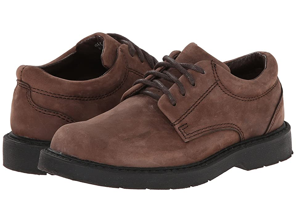 School Issue Scholar (Toddler/Little Kid/Big Kid) (Brown Oily Nubuck) Boys Shoes