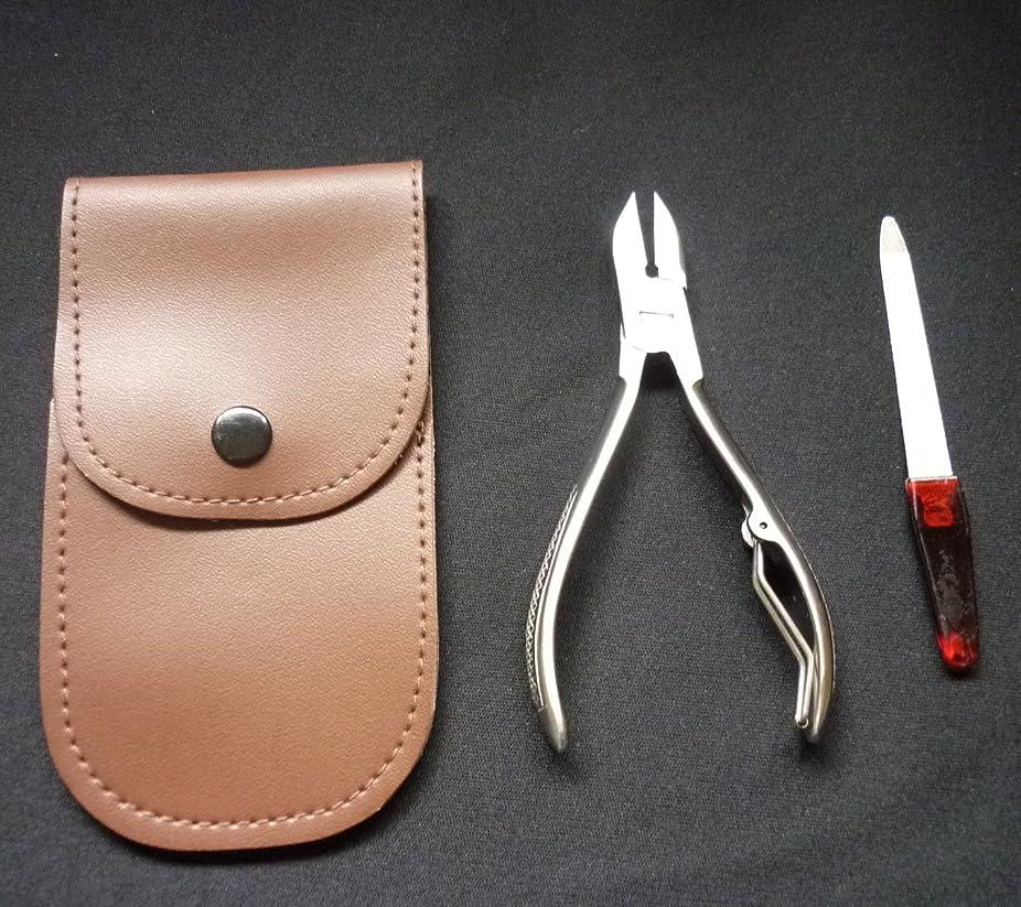 浸食ホット真似るTOYOMITSU ニッパー型 爪切り No.NN-120