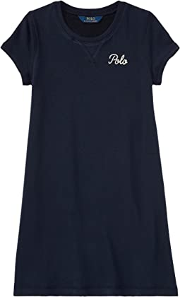 Polo Ralph Lauren Kids - French Terry Dress (Little Kids/Big Kids)