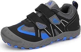Mishansha Enfants Chaussures de Course de Randonnée de Running Garçon Fille Antidérapantes Respirant Outdoor Sneakers