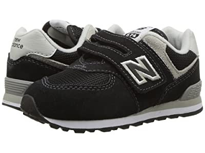 New Balance Kids KX574v1I (Infant/Toddler) (Black/Grey) Boys Shoes