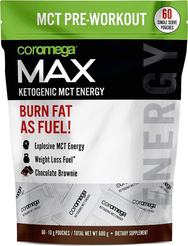 Coromega お見舞い セール商品 MAX Pre-Workout Gel Ketogenic Energy Pouches S Dietary