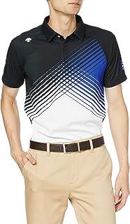 [デサント] 【20年秋冬モデル】BLUE LABEL 半袖シャツ ストレッチ 吸汗 速乾 UVケア UPF15 DGMQJA06 メンズ