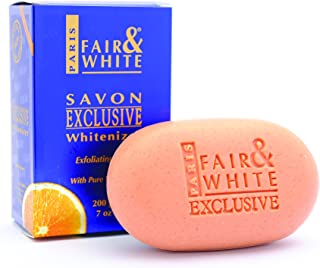 "Fair & White Exclusive Exfoliating Soap with Pure Vitamin""C"" 200 gm"