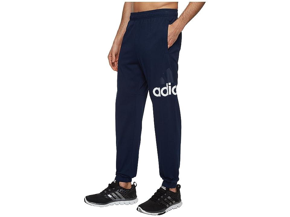 796220b563e78 adidas Essentials Track SJ Logo Pants (Collegiate Navy/White) Men's ...