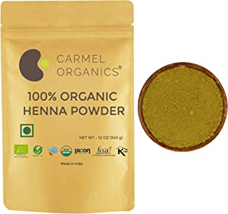 Organic Hair Color Henna Powder (12 oz) | Organic | Non GMO | No added coloring agents