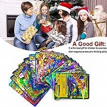 100 Poke Cards TCG Style Card Holo EX Full Art : 20 GX + 20 Mega + 1 Energy + 59 EX Arts with One Guaranteed GX/EX Card