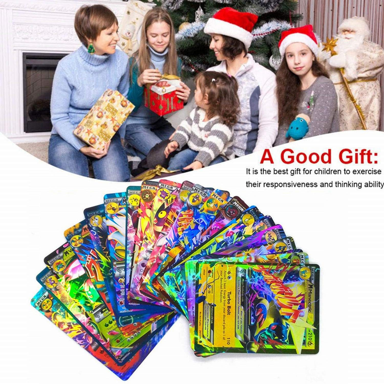 1 Energy loveU 100 Cards Poke Style Card Holo EX Full Art 20 GX 20 Mega