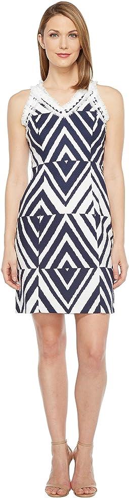 Cotton Jacquard Dress