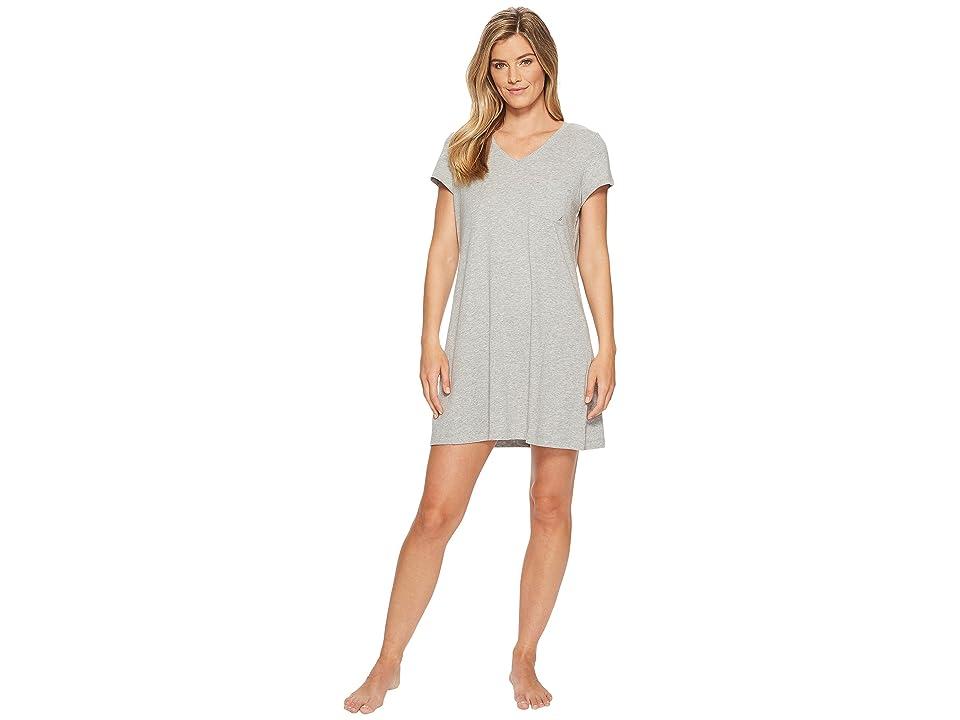 Nautica Solid Sleepshirt (Heather Grey) Women