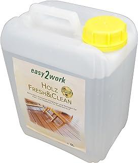easy2work 5Liter Holz Fresh&Clean: Holzentgrauer und Holzreiniger