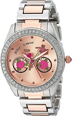 Betsey Johnson BJ00611-17 - Two-Tone Rose Inner Face