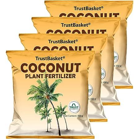 TrustBasket Coconut Plant Fertilizer (450 gm) - Set of 4