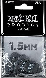 Ernie Ball 1.5mm Black Multipack Prodigy Guitar Picks...