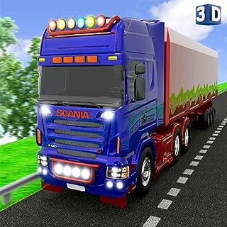 Euro Europe Truck Driving: 3D Transport Cargo Sim