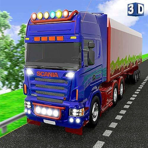 Euro Europe Truck Driving: 3D-Transportfracht Sim