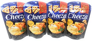 Glico Cheeza Camebert Cheese Flavoured Crackers 40g, 4 Pack