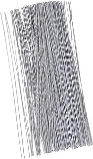 Floral Wire - 300 Piece Flower Wire, 20 Gauge Floral Stem Wire for Florist Flower Arrangement, Bouquet Stem Warpping and DIY Craft, White, 16 Inches