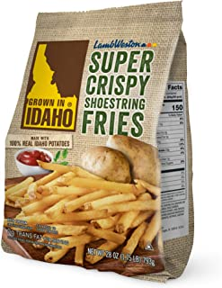 Grown in Idaho Super Crispy Shoestring Fries, 28 oz (Frozen)