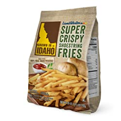Grown in Idaho Super Crispy Shoestring Fries, 28 oz (Frozen)