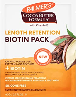 Palmer's Cocoa Butter & Biotin Length Retention Biotin Pack, 2.1 Ounce