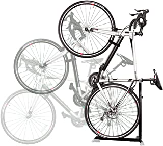 Bike Nook Bicycle Stand. The Easy To Use Upright Design Lets You Store Your Bike Instantly in A Space Saving Handstand Position, Freeing Floor Space in Your Living Room, Bedroom or Garage