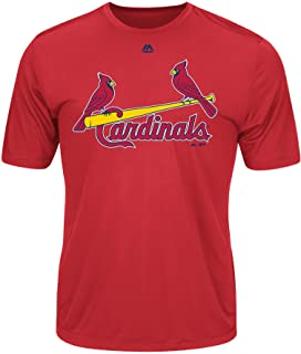 c712a7bc St. Louis Cardinals Wicking MLB Officially Licensed Youth & Adult Authentic  Replica Crewneck T-