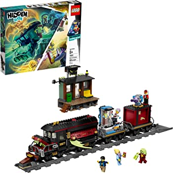 LEGO Hidden Side Ghost Train Express 70424 Building Kit, Train Toy for 8+ Year Old Boys and Girls, Interactive Augmented Reality Playset (698 Pieces)