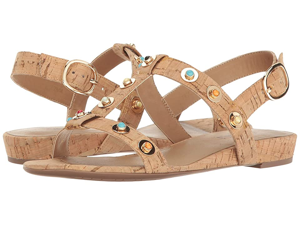 Vaneli Bella (Natural Cork/Multi Stones) Women